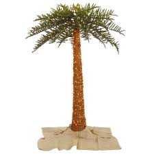 amazon com vickerman 10 u0027 outdoor royal palm with 1100 clear