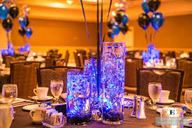 blue centerpieces flower arrangements gallery floral