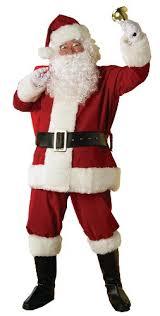 santa claus costume rubie s deluxe regal santa claus suit standard