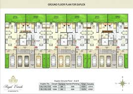 row house floor plan modern row house floor plans plan design clever designs