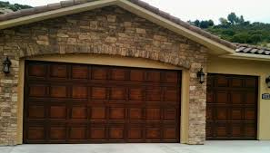 Garages That Look Like Barns Plain Jane Steel Builder Grade Garage Doors Stained To Look Like