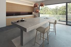 kitchen island top caesarstone calacatta nuvo quartz countertops