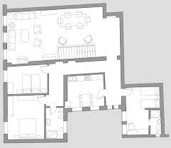 exclusive rental of michiel apartment in sestiere cannaregio michiel floor plan