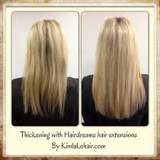 Before After Hair Extensions by Kim Lake Hair Seattle Wa Hair Extensions Custom Blends Hair
