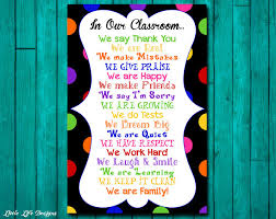 Classroom Window Decorations For Christmas by Classroom Decor Classroom Rules Classroom Sign Classroom