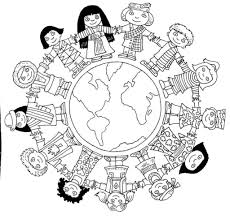 children around the world coloring pages az coloring pages world