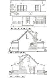 Floor Plans And Elevations Of Houses Cottage Style House Plan 2 Beds 1 00 Baths 975 Sq Ft Plan 17 2139