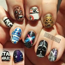 star wars nail art nailpro