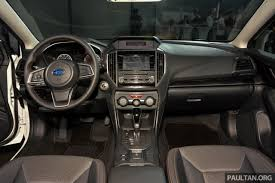 subaru crosstrek interior 2018 this is the base model of the 2018 subaru xv w 13 photos specs