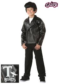 Greasers Halloween Costumes Kids Grease Birds Jacket