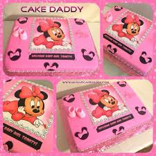 12 best cakes for baby shower images on pinterest minnie mouse