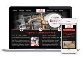 Kitchen Website Design Web Design For Phoenix Supply Wichita Salina Balefire