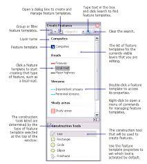 about feature templates u2014help arcgis for desktop