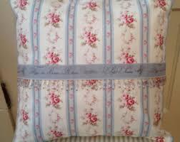 Shabby Chic Pillow Shams by Rose Pillow Sham Etsy