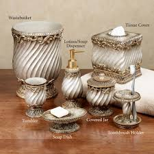 Bathroom Wastebaskets Bathroom Accessory Sets Touch Of Class