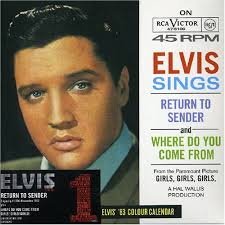 elvis presley return sender amazon music