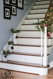 Home Stairs Decoration Pin By Lizette Pretorius On Christmas Stair Cases Pinterest