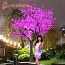 beautiful outdoor led tree lights purple led cherry tree for