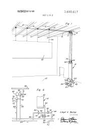 Pulley Curtain Systems Patent Us3690617 Water Counterweight System For Theatrical Props