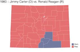 2016 Presidential Election Map How Colorado Has Voted In Presidential Elections And How Its