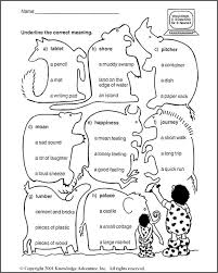 know more nouns word meanings u2013 3rd grade language arts worksheet