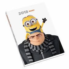 minion desk calendar 2017 despicable me a5 diary 2018 calendar club uk