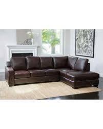 Abbyson Sectional Sofa On Sale Now 10 Abbyson Monaco Brown Top Grain Leather