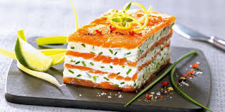 recette de cuisine saumon mille feuilles de saumon fumé au mascarpone citronné recettes
