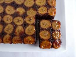 pastry studio chocolate banana upside down cake