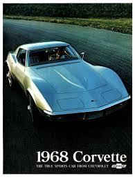 corvette dealers corvette articles 1968 corvette dealers sales brochure