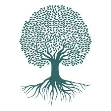 tree roots svg cuttable design