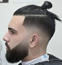 man bun short sides best man bun hairstyle best hairstyle for every one