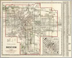 Denver Metro Zip Code Map by Map Of Denver Map Denver Co Colorado Usa