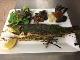 cuisine langouste plancha loup à la plancha sardines du pays queue de langouste picture of