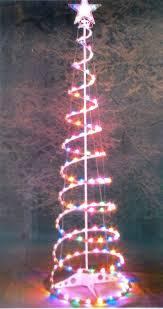 spiral christmas tree white spiral christmas tree christmas lights decoration