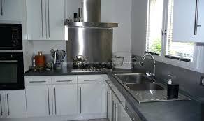 cuisine avec credence inox accessoire credence inox ides finest cuisine ides credence with