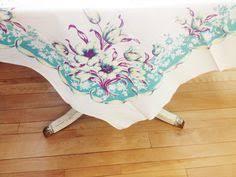 vintage thanksgiving tablecloth by marketno5 vintage