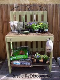 garden potting table build a potting bench or garden buffet table