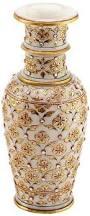 Flower Vase Decoration Home Amazon Com The Hue Cottage Flower Vase Rajasthani Marvel In