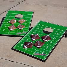 wild sports football field tailgate toss set hayneedle