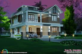 Kerala Home Design And Elevations by Kerala House Plans Asian May Home Design And Floor Villa Plan 2017