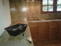 carrelage cuisine plan de travail inspirations à la maison exceptionnel beton cire sur carrelage de