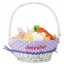 easter badkets personalized easter basket with liners current catalog