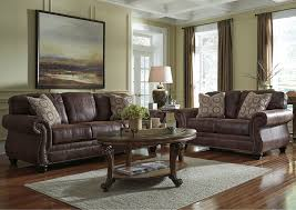 dining room loveseat nick s furniture sugar grove il breville espresso sofa loveseat