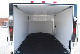 v nose enclosed trailer cabinets cargo trailers rpm trailer sales