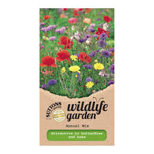 suttons wildflower seeds annual mix departments diy at b u0026q