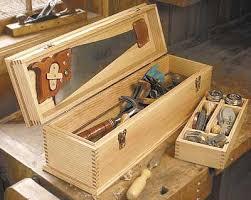 diy wood tool cabinet carpenter s tool box plan wood working projects pinterest box