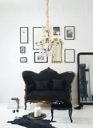 Black Sofa Interior Design by 5 French Styling Tips Every Home Needs The Chriselle Factor