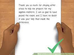 brilliant ideas of how to write a letter of appreciation your