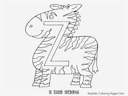 z letters alphabet coloring sheet realistic coloring pages